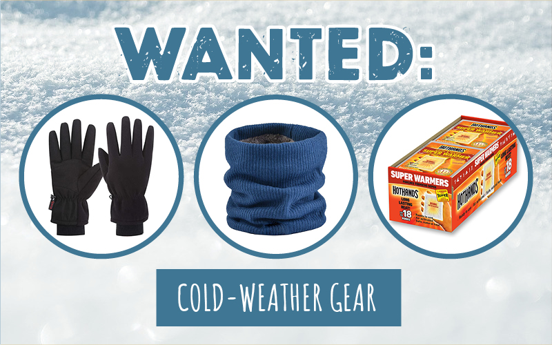 Winter Gear Needed